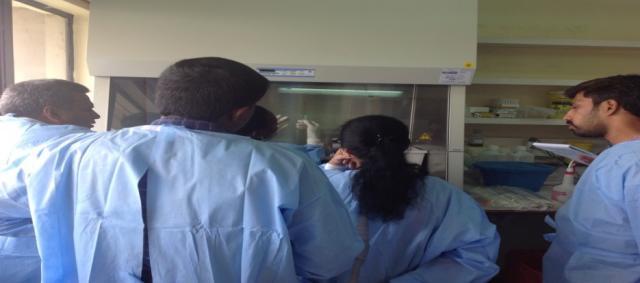 KAVI-ICR mucosal sampling and immunology training1   KAVI