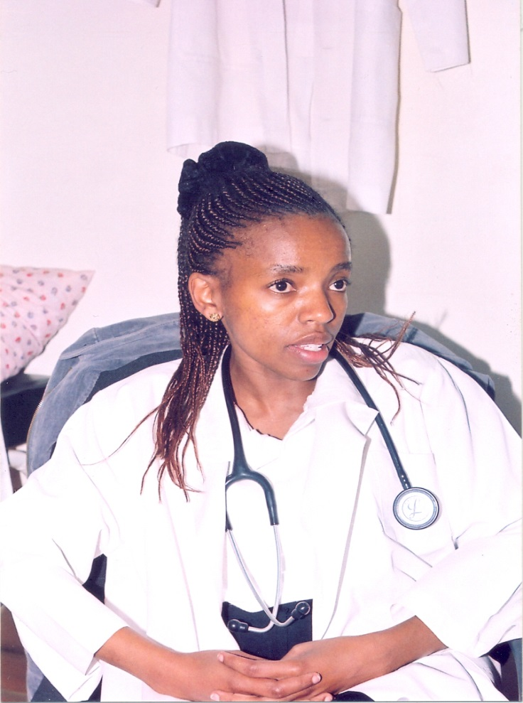 At the KAVI-Kangemi research clinic in 2005